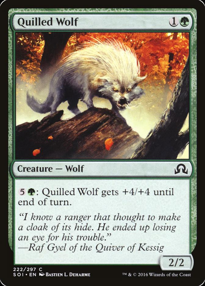 Quilled Wolf [SOI]