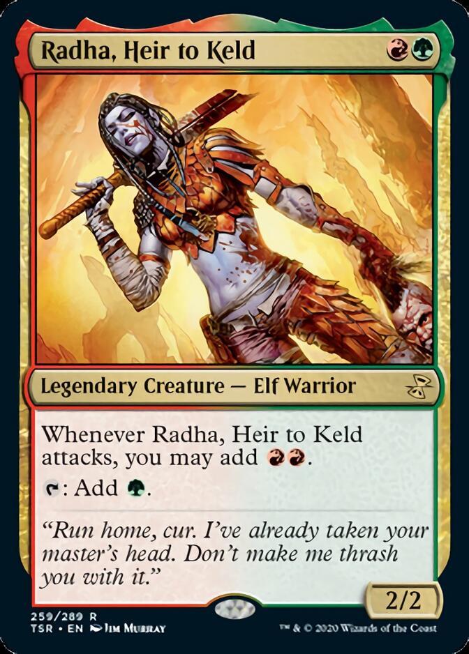 Radha, Heir to Keld [TSR]