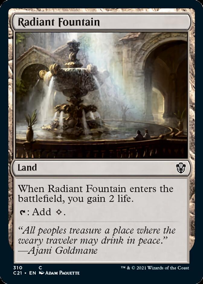 Radiant Fountain [C21]