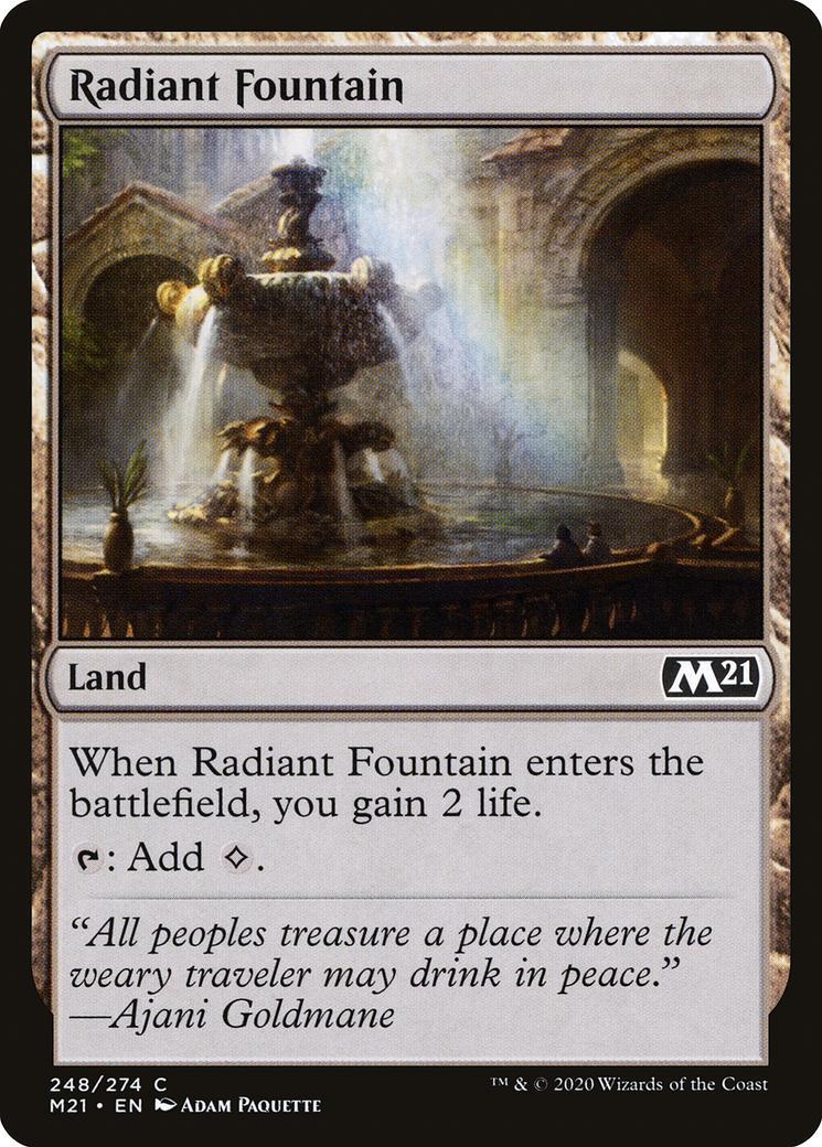Radiant Fountain [M21]