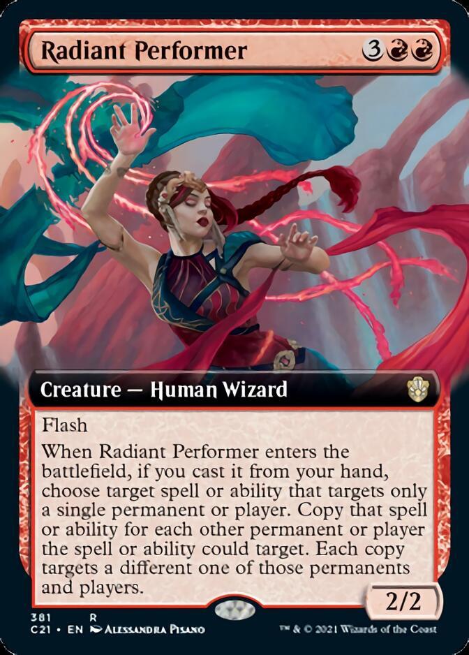 Radiant Performer <extended> [C21]
