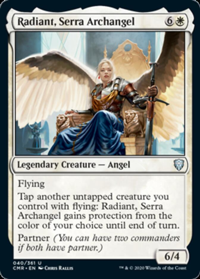 Radiant, Serra Archangel [CMR]