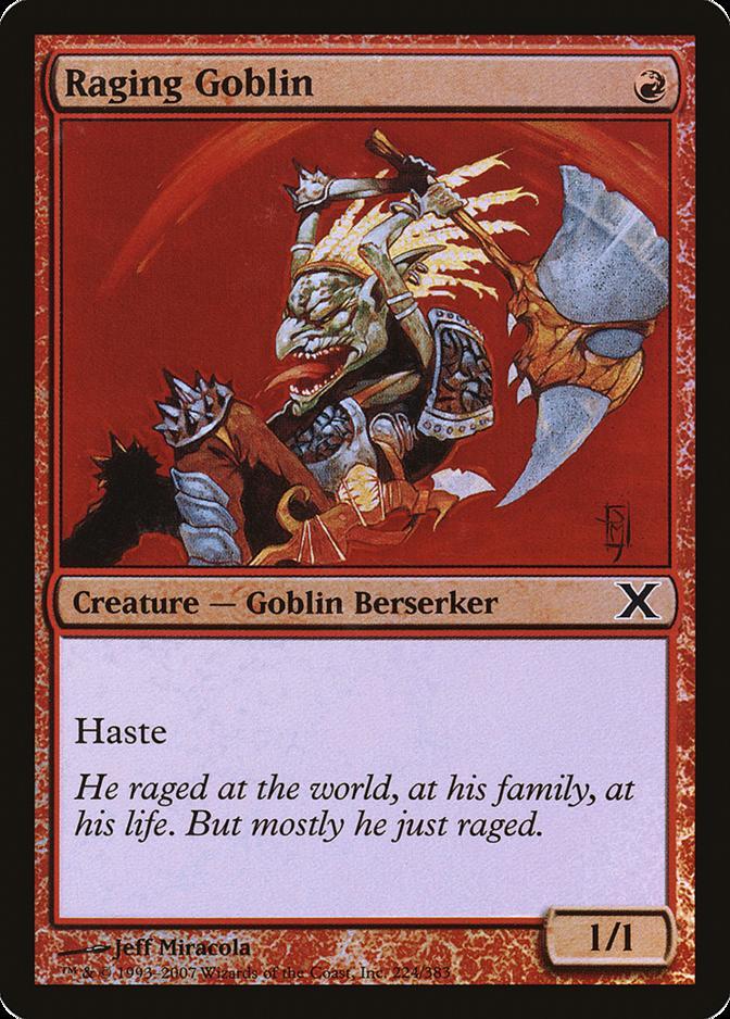 Raging Goblin [10E]
