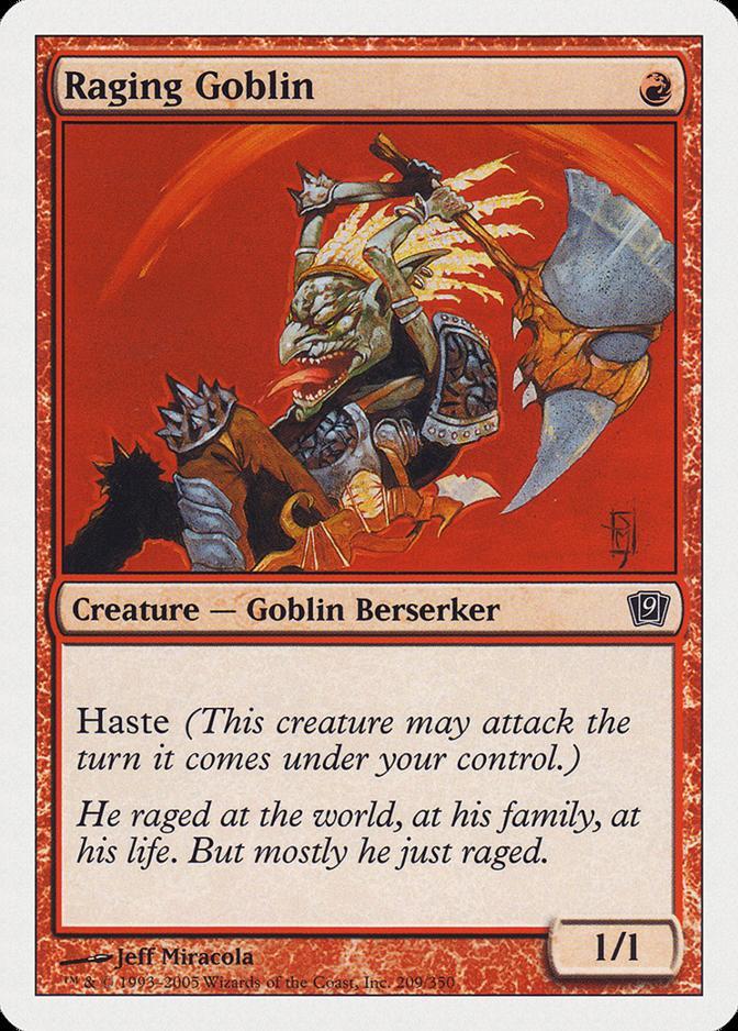 Raging Goblin [9ED]