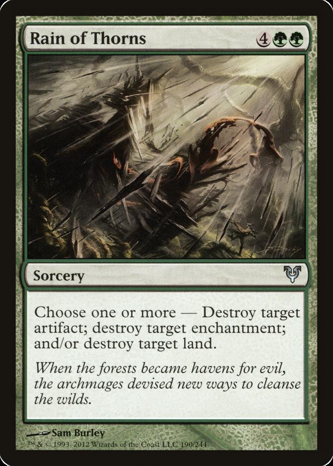 Rain of Thorns [AVR]