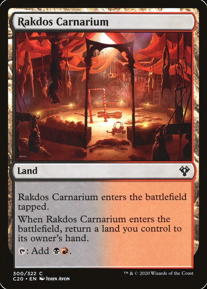 Rakdos Carnarium [C20]