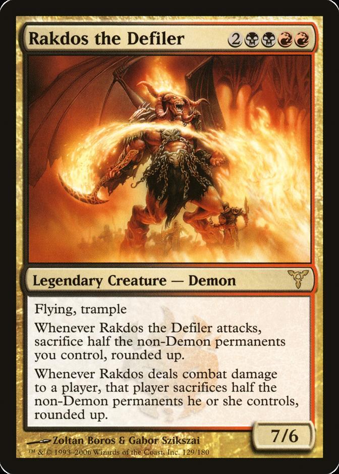 Rakdos the Defiler [DIS]