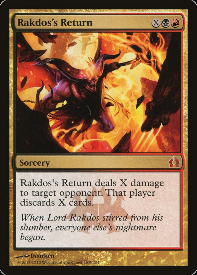 Rakdos's Return [RTR]