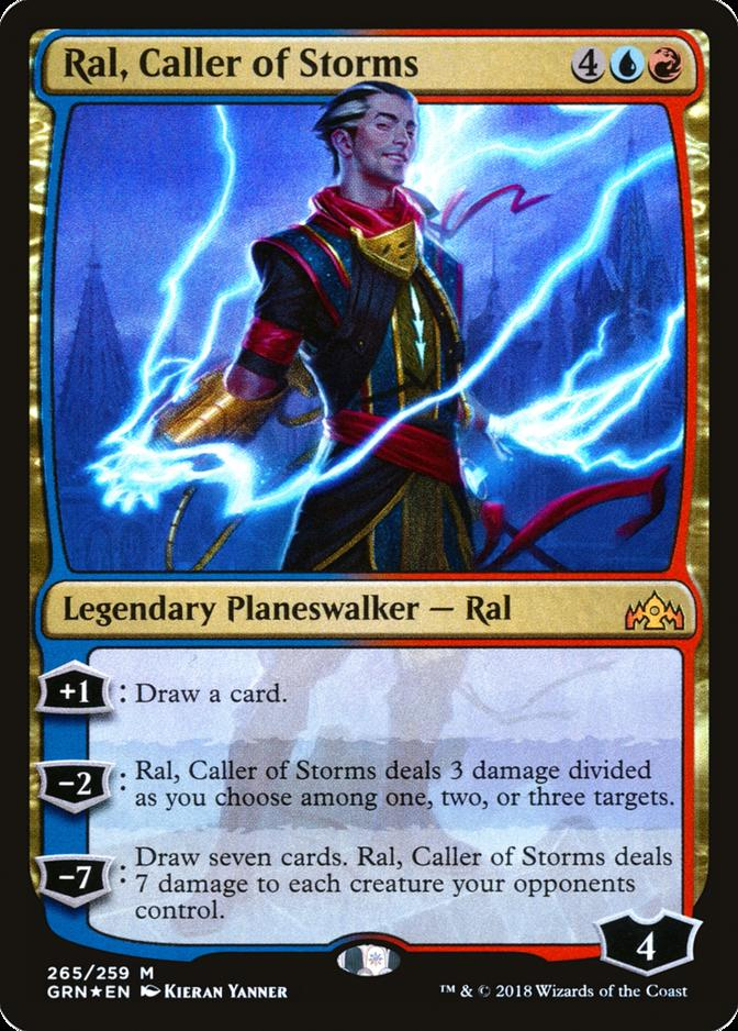 Ral, Caller of Storms [GRN] (F)