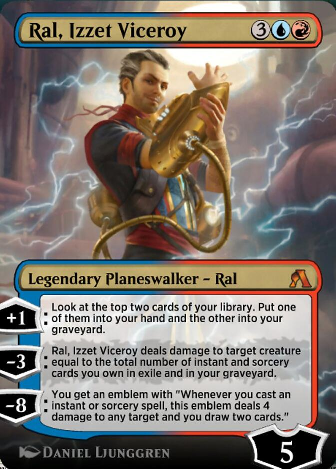 Ral, Izzet Viceroy <magic arena> [GRN]