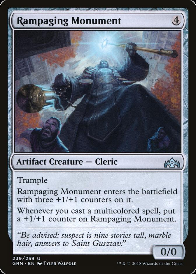 Rampaging Monument [GRN] (F)