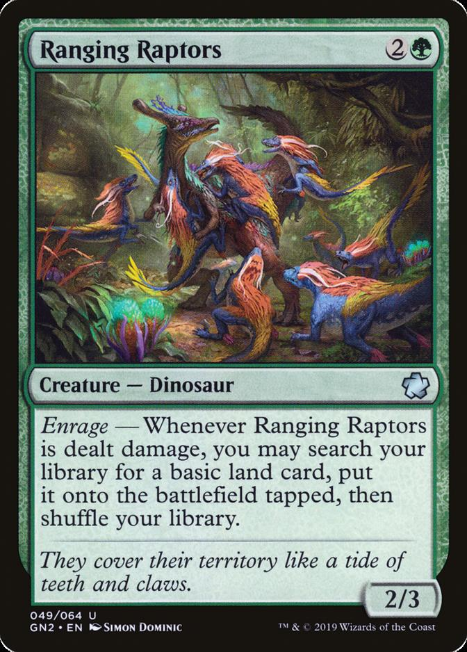 Ranging Raptors [GN2] (F)