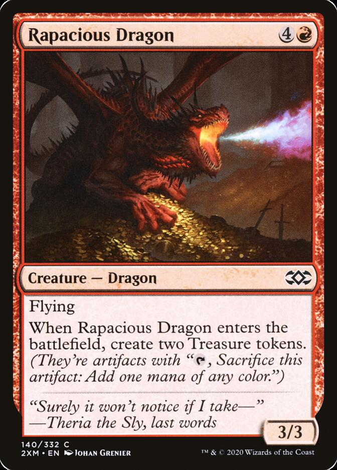 Rapacious Dragon [2XM]