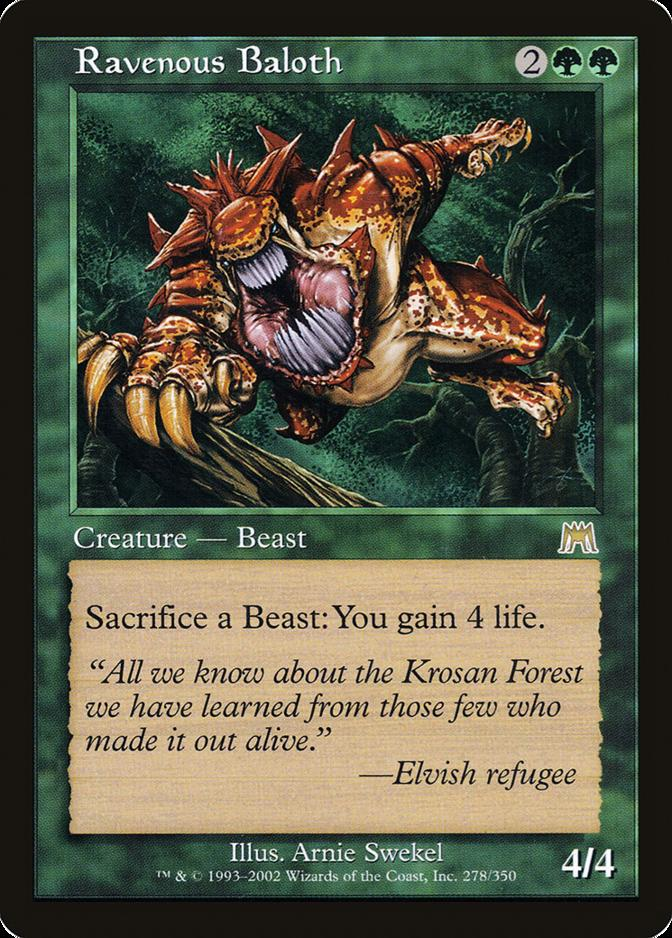 Ravenous Baloth [ONS] (F)