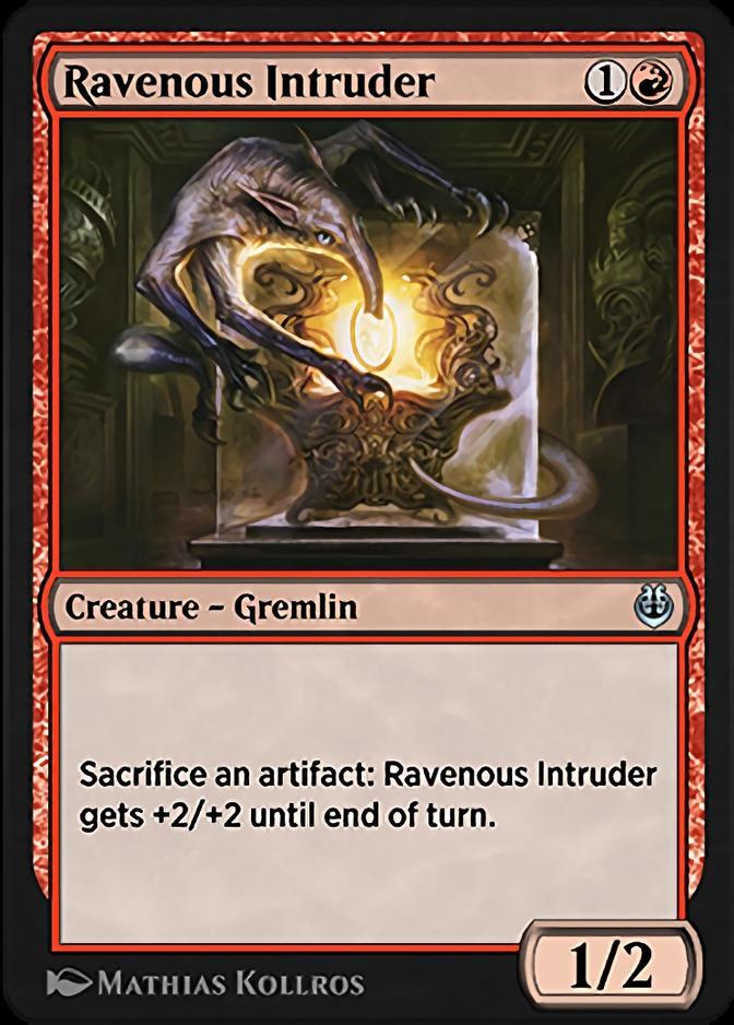 Ravenous Intruder [KLR]