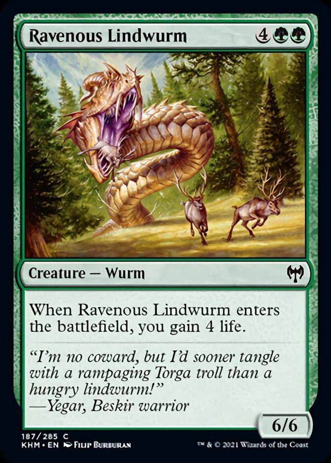 Ravenous Lindwurm [KHM]