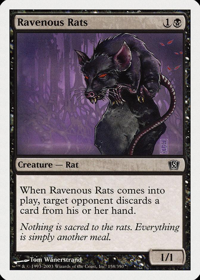 Ravenous Rats [8ED]