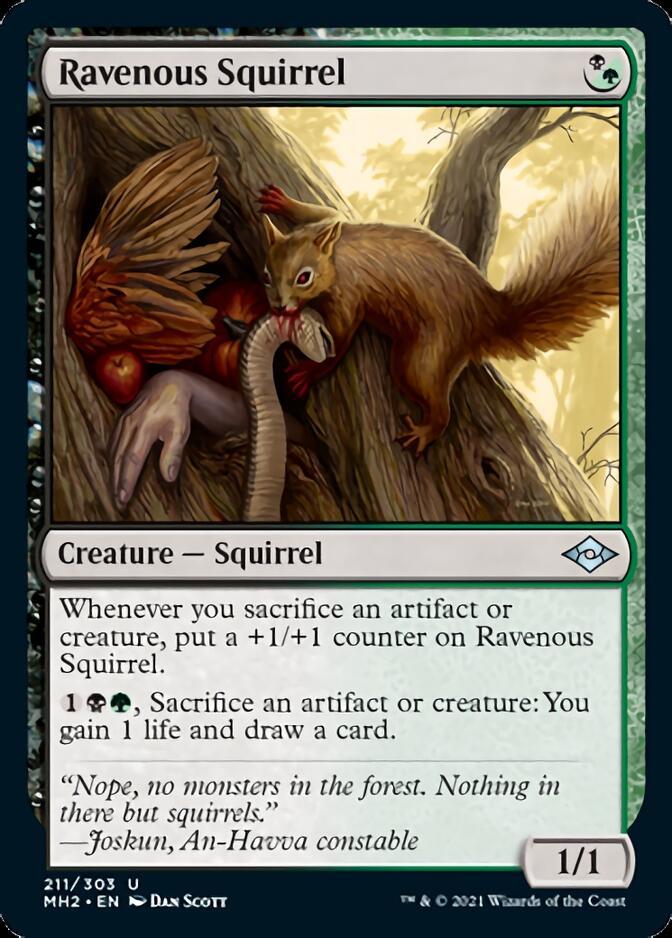 Ravenous Squirrel [J21]