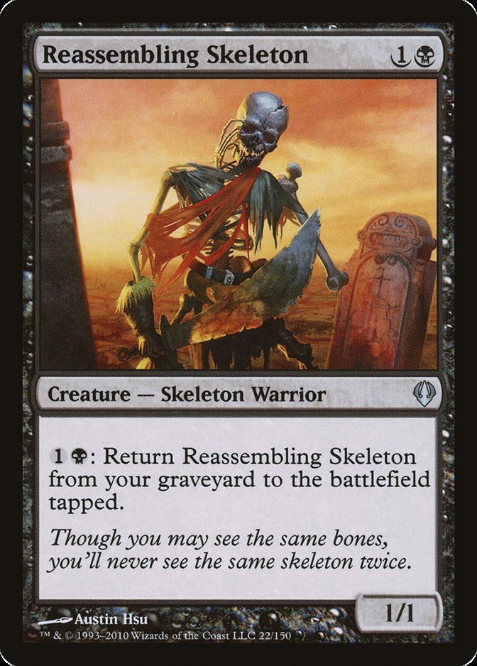 Reassembling Skeleton [ARC]