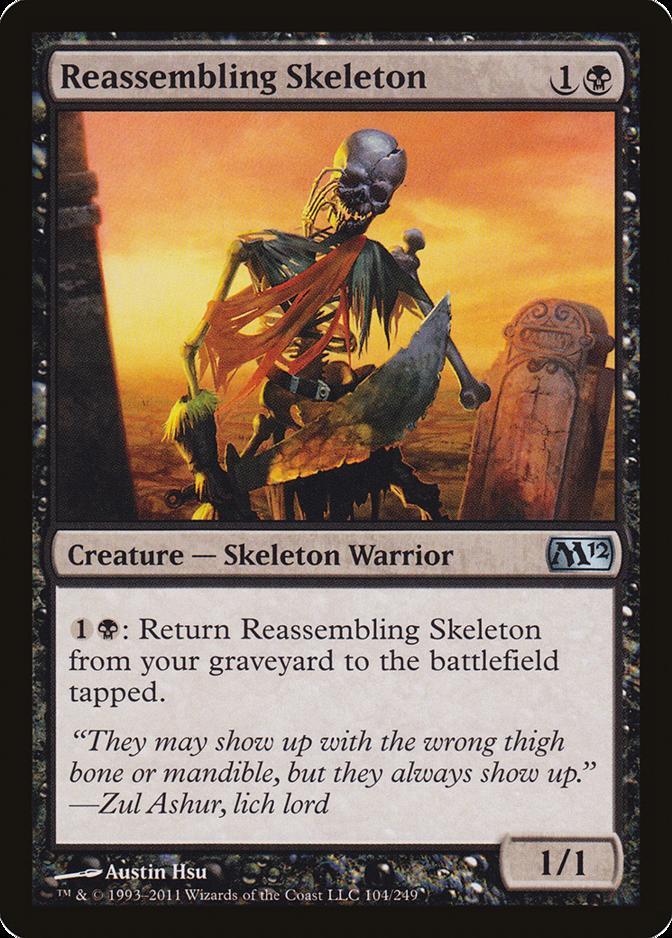 Reassembling Skeleton [M12]