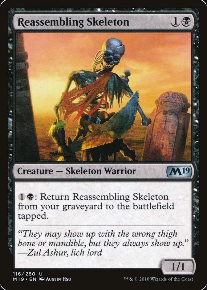 Reassembling Skeleton [M19]