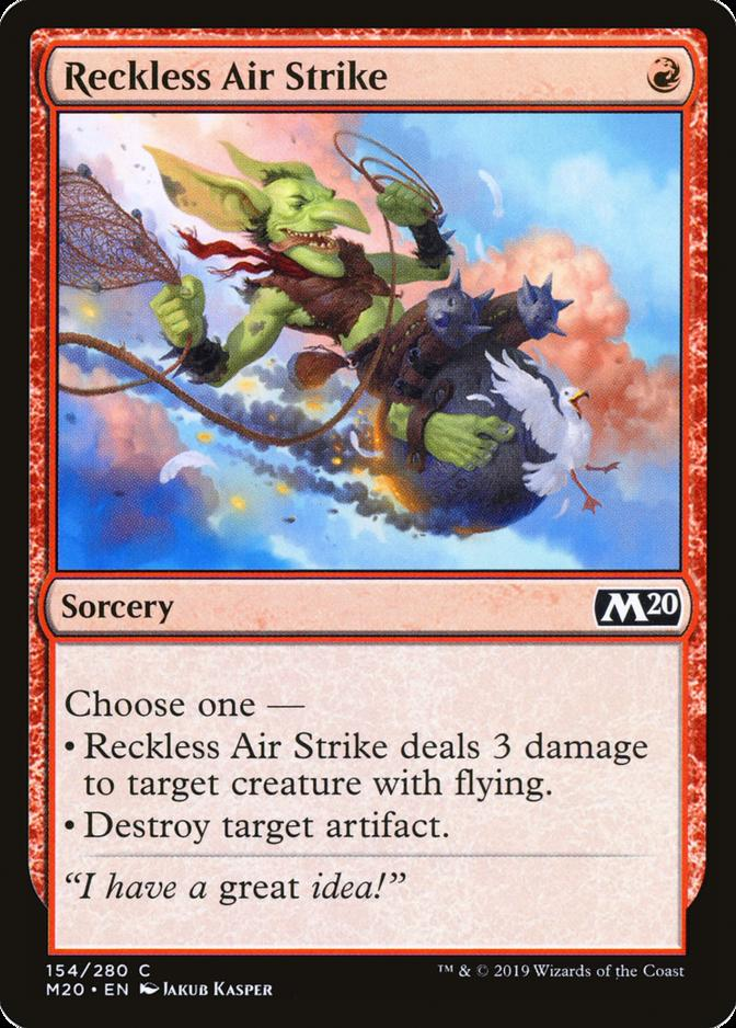 Reckless Air Strike [M20]