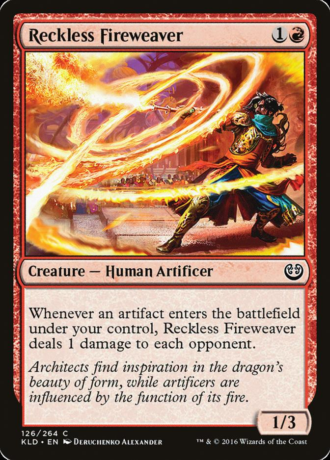 Reckless Fireweaver [KLD]