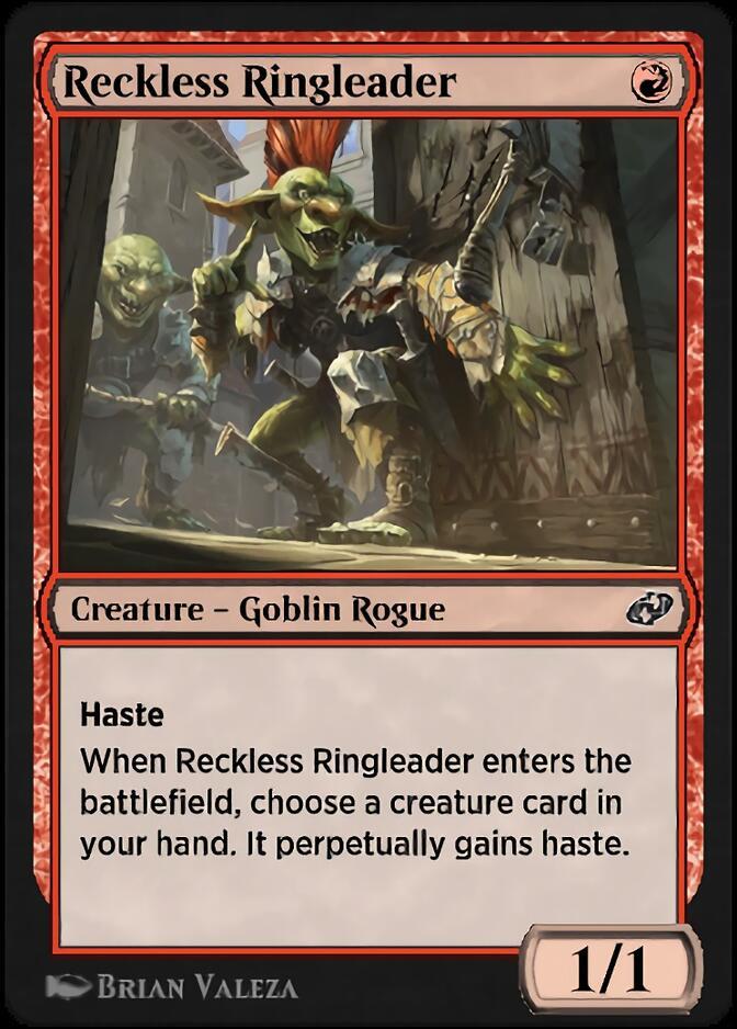 Reckless Ringleader [J21]
