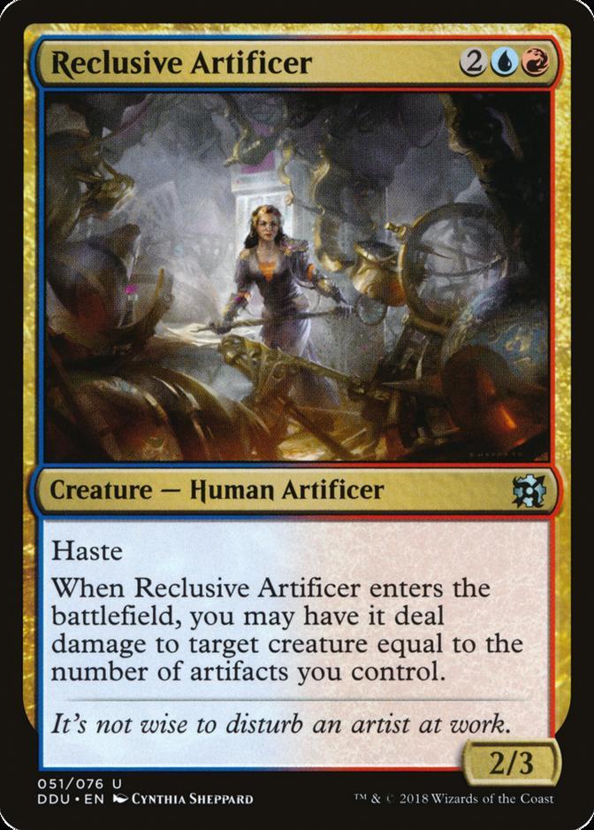 Reclusive Artificer [DDU]