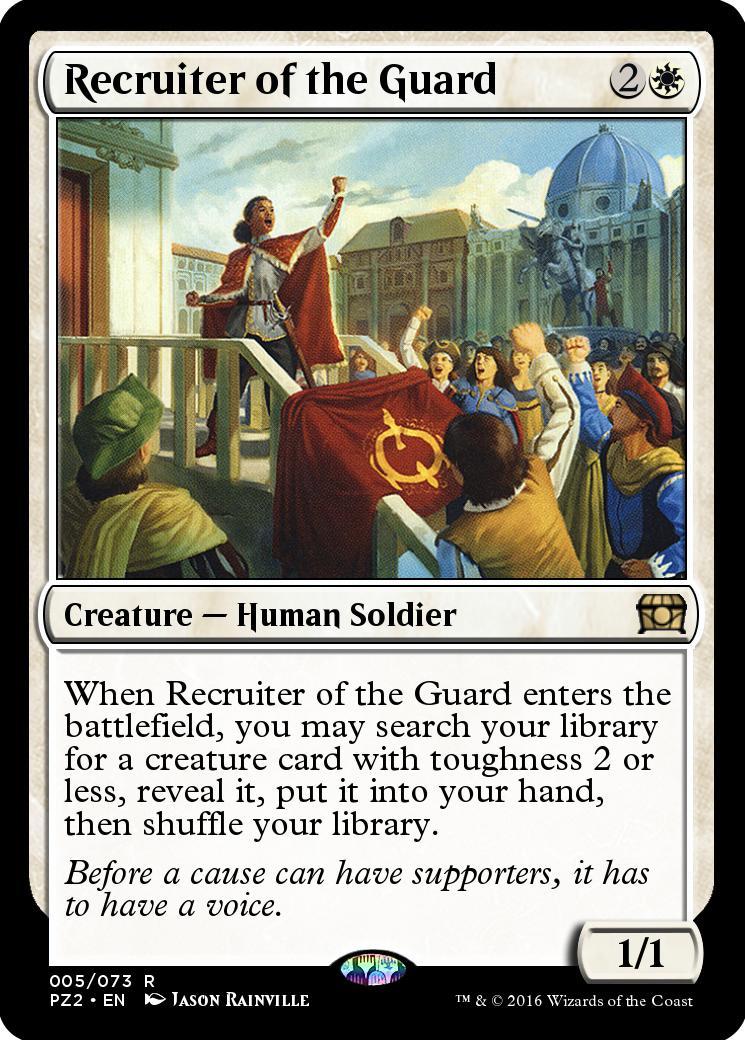 Recruiter of the Guard [PZ2]