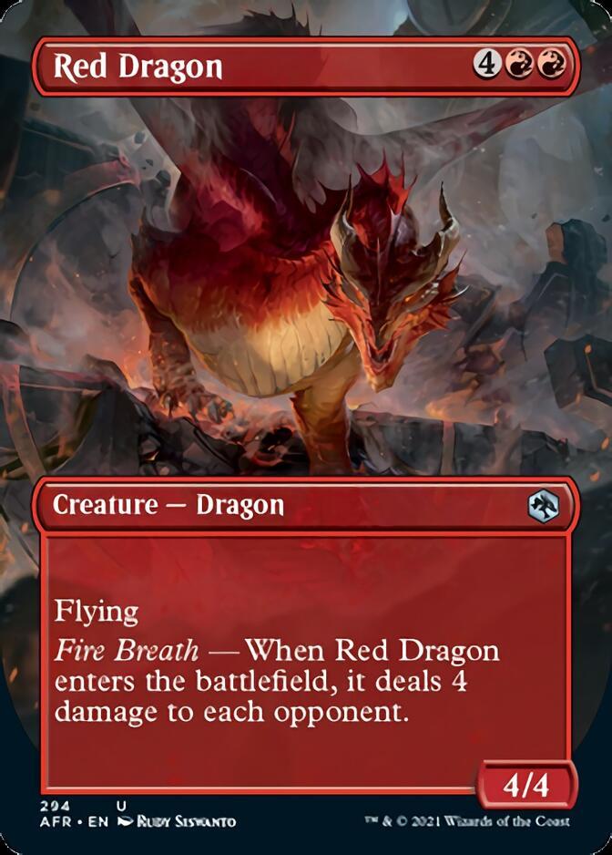 Red Dragon <borderless> [AFR]
