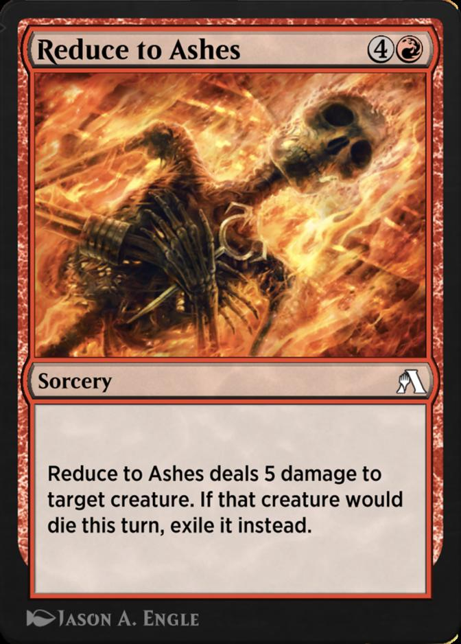 Reduce to Ashes [ANB]