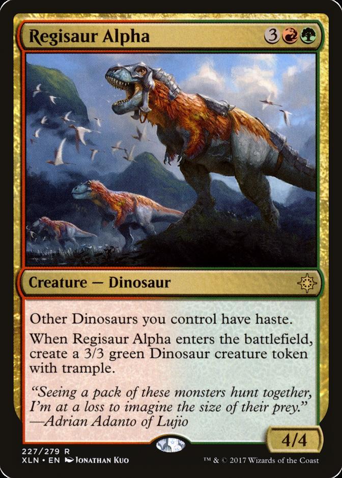 Regisaur Alpha [XLN]