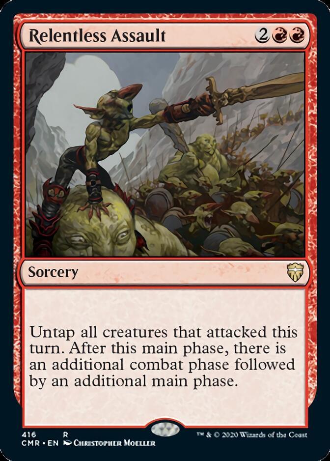 Relentless Assault [CMR]