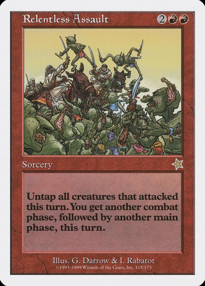 Relentless Assault [S99]
