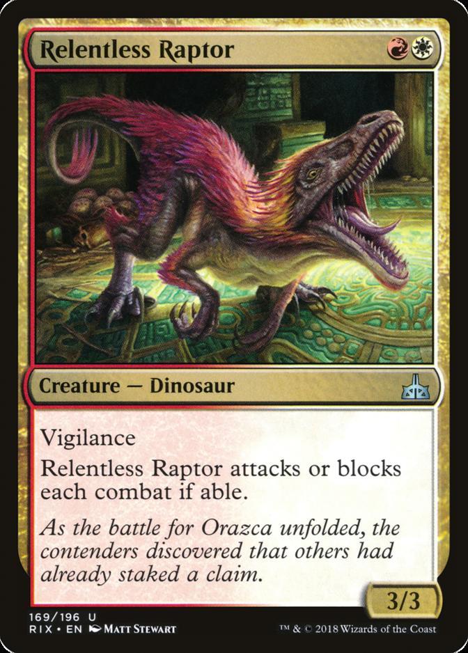 Relentless Raptor [RIX]