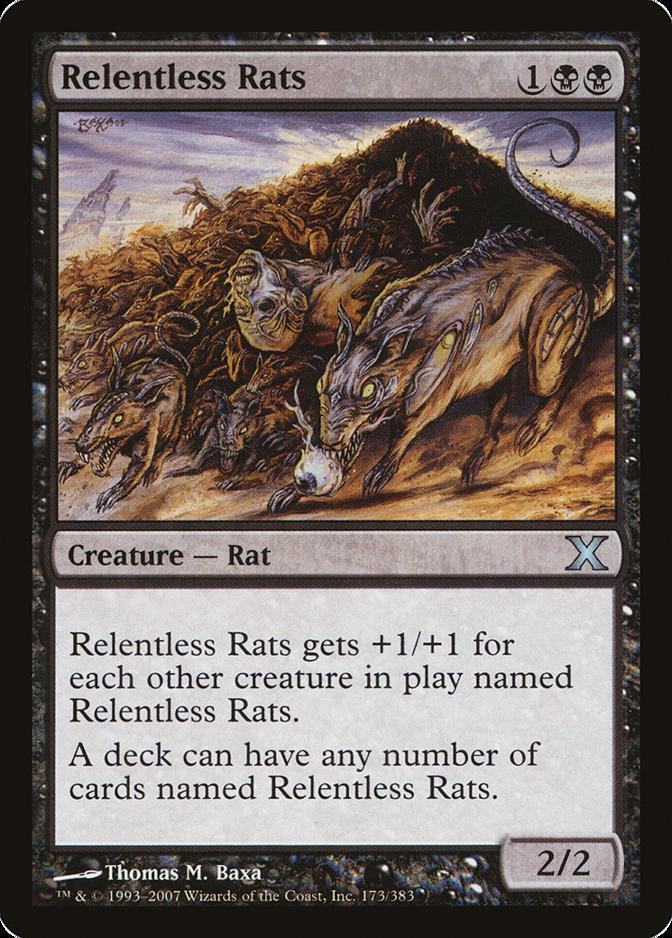 Relentless Rats [10E] (F)