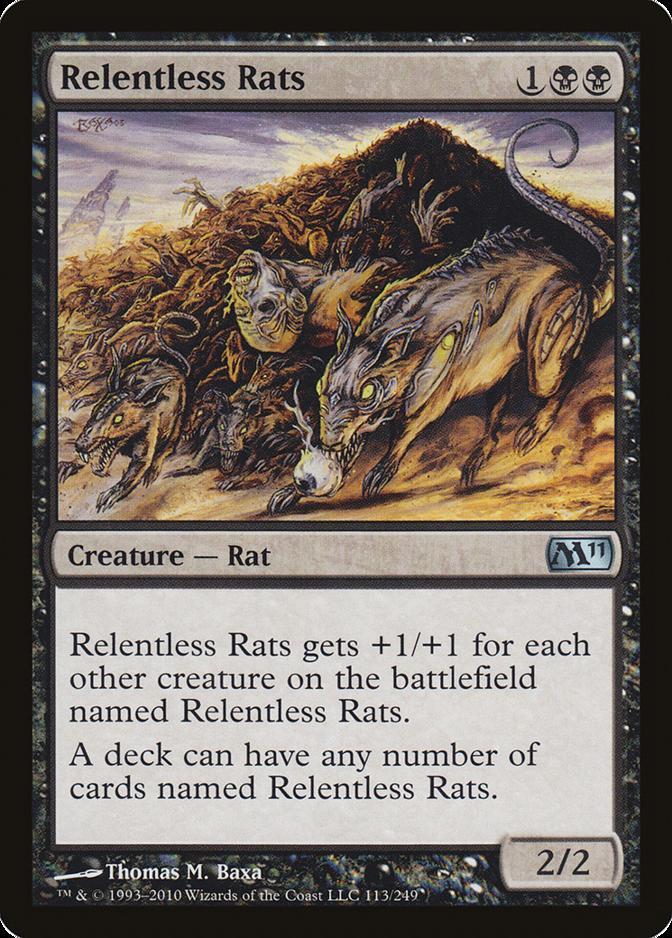 Relentless Rats [M11] (F)