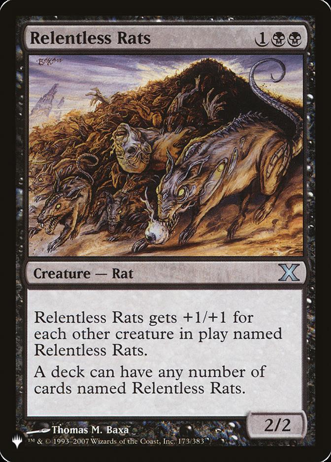 Relentless Rats [PLIST]