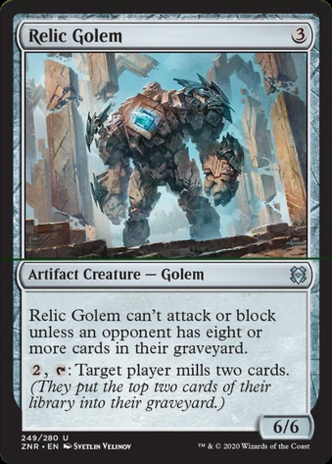 Relic Golem [ZNR]