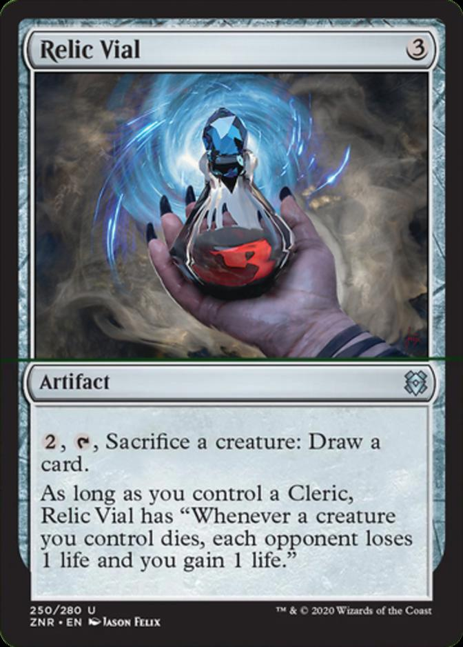 Relic Vial [ZNR]