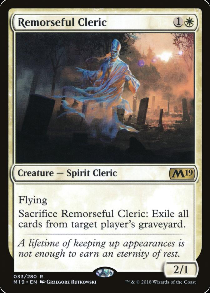 Remorseful Cleric [M19]