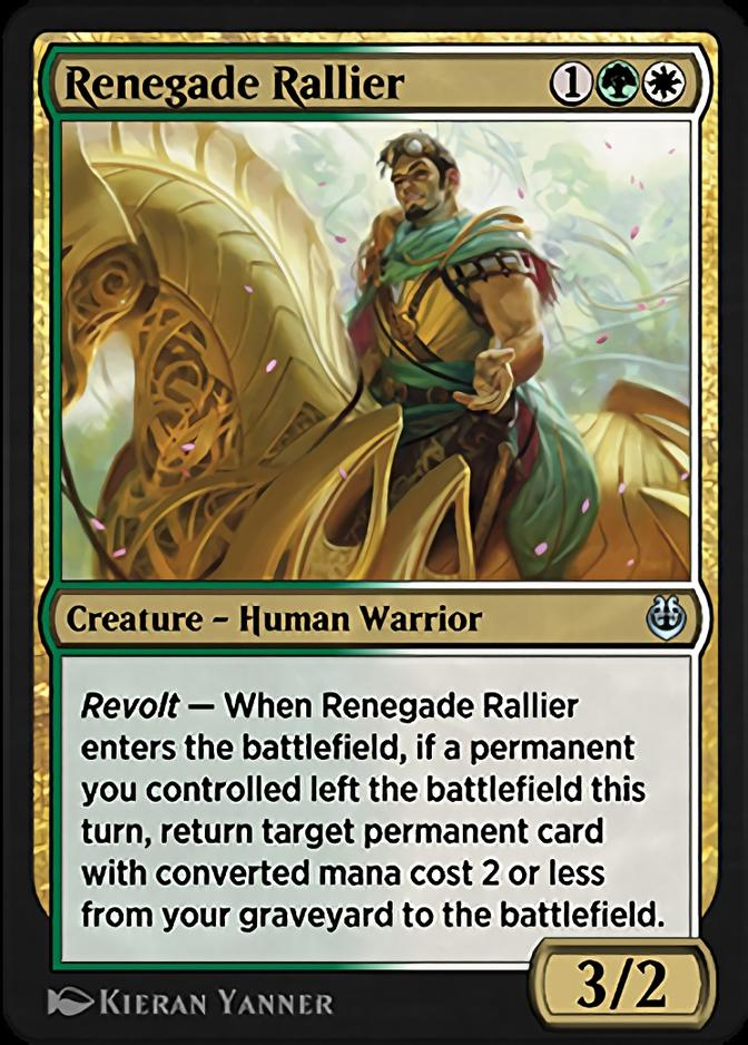 Renegade Rallier [KLR]
