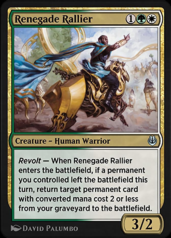 Renegade Rallier <masterpiece> [KLR]