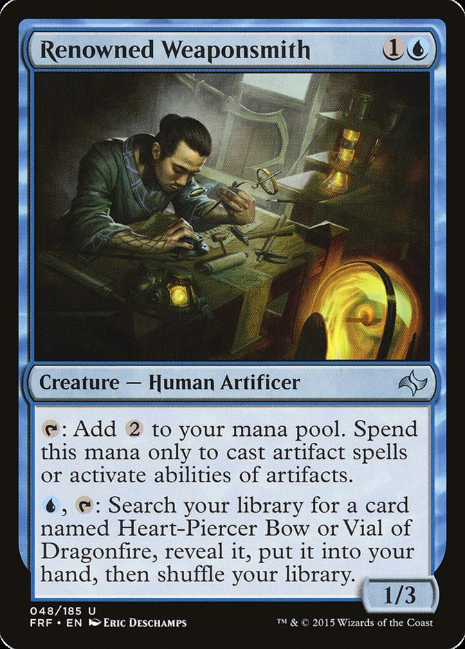 Renowned Weaponsmith [FRF] (F)