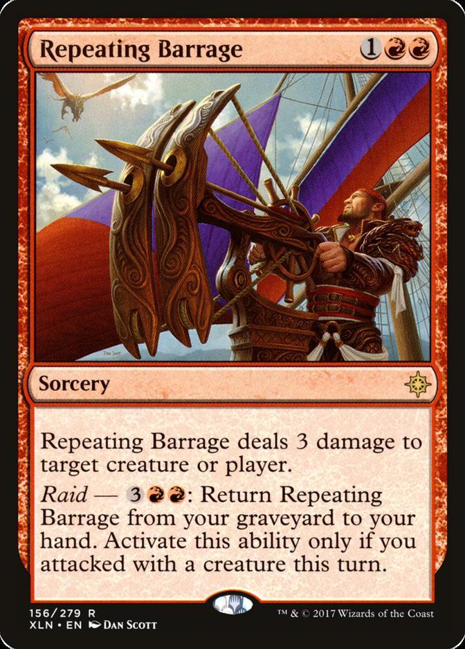 Repeating Barrage [XLN]