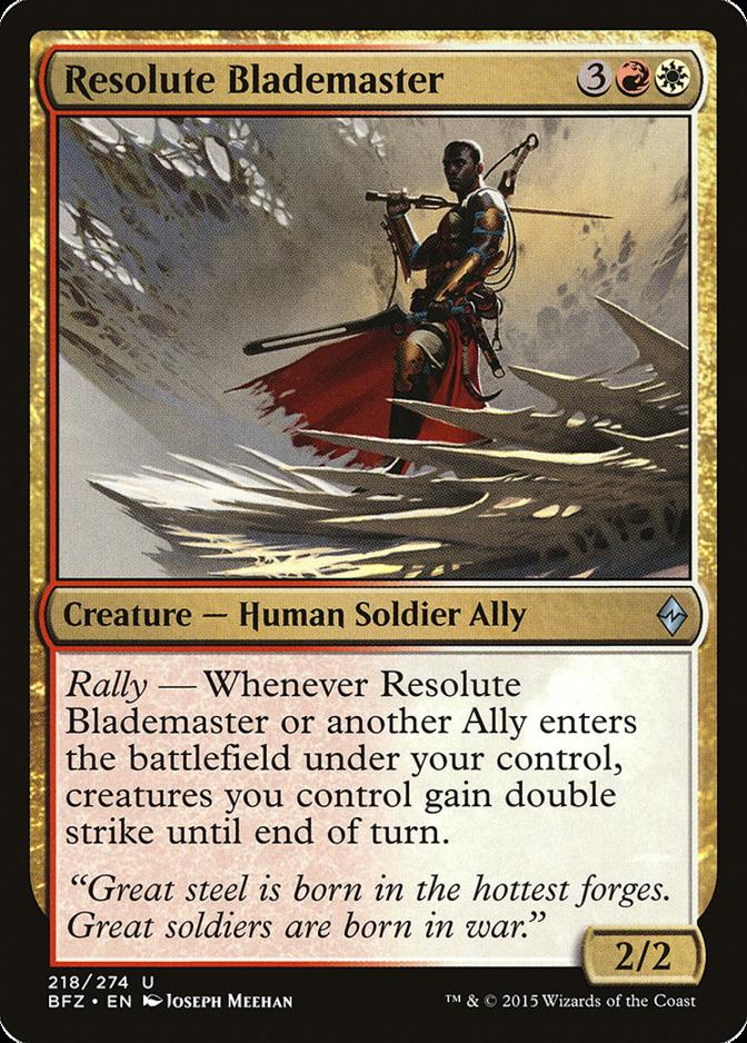 Resolute Blademaster [BFZ]