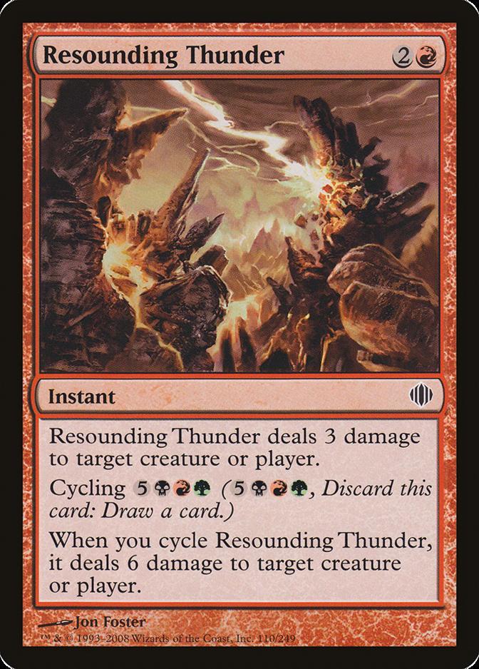 Resounding Thunder [ALA]