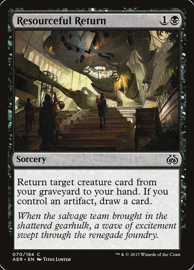 Resourceful Return [AER]