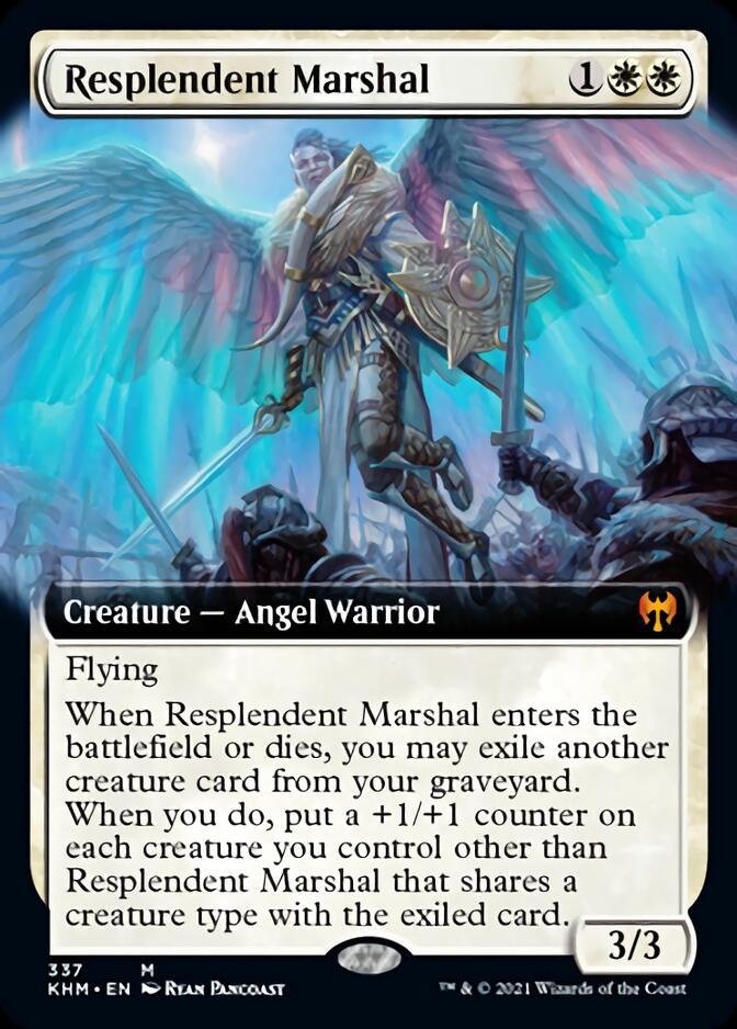 Resplendent Marshal <extended> [KHM]